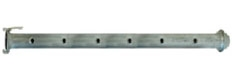 """Tubazione in acciaio zincato tipo WELLPOINT con  manicotti saldati DN 2""""767"""